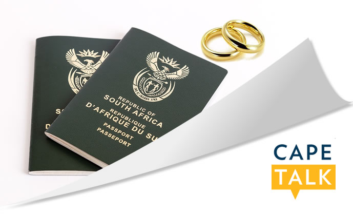 Spouse Visas applied from within South Africa