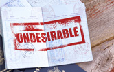 The declaration of Undesirability – an overstay – how to resolve